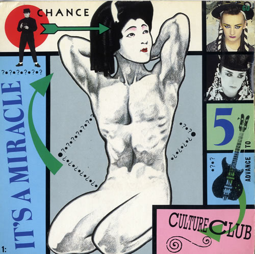 """Culture Club It's A Miracle 7"""" vinyl single (7 inch record) UK CUL07IT105921"""