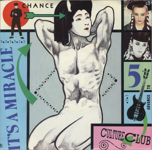 """Culture Club It's A Miracle 7"""" vinyl single (7 inch record) US CUL07IT553180"""