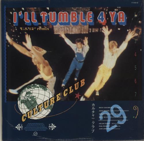 "Culture Club Karma Chameleon 12"" vinyl single (12 inch record / Maxi-single) UK CUL12KA14135"