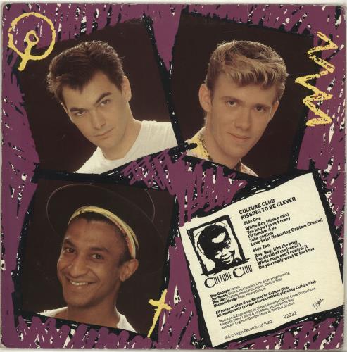 Culture Club Kissing To Be Clever vinyl LP album (LP record) UK CULLPKI399951