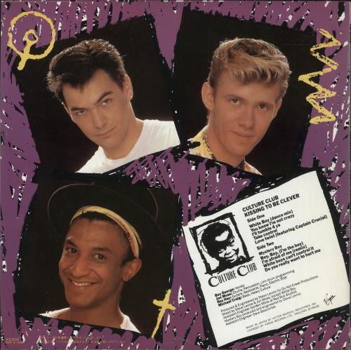 Culture Club Kissing To Be Clever vinyl LP album (LP record) Japanese CULLPKI749486