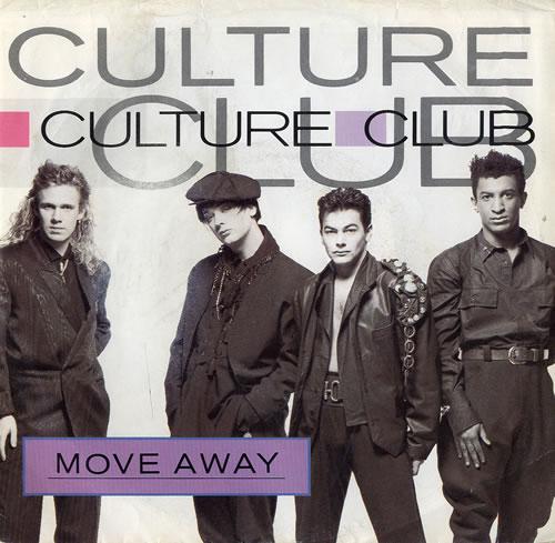 "Culture Club Move Away 7"" vinyl single (7 inch record) US CUL07MO559596"