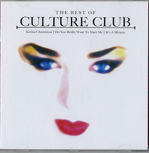 Culture Club The Best Of UK CD album (CDLP)