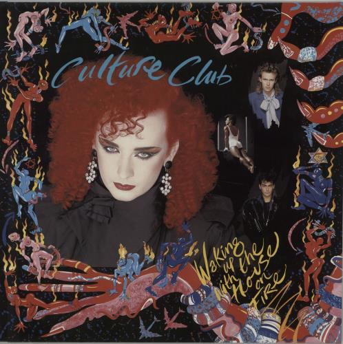 Culture Club Waking Up With The House On Fire vinyl LP album (LP record) German CULLPWA214811