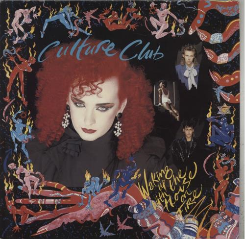Culture Club Waking Up With The House On Fire vinyl LP album (LP record) Australian CULLPWA74845