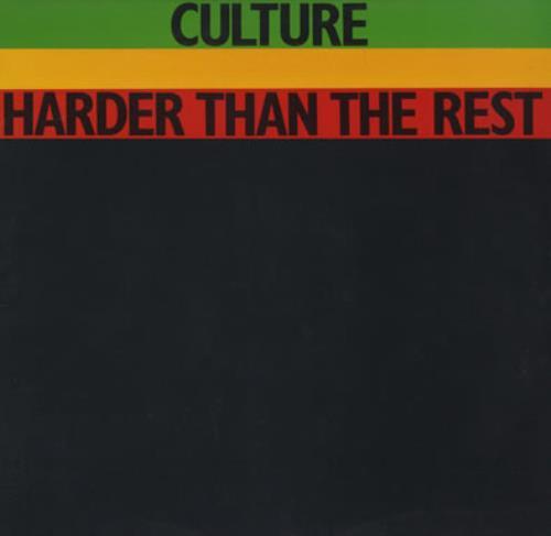 Culture Harder Than The Rest vinyl LP album (LP record) UK CE4LPHA373602