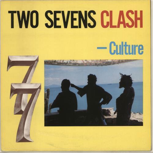 Culture Two Sevens Clash - EX vinyl LP album (LP record) UK CE4LPTW561585