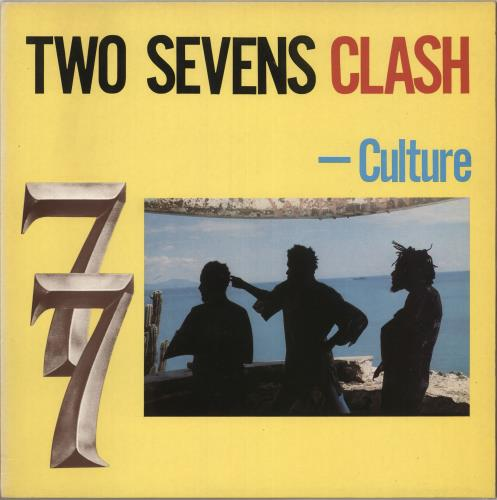 Culture Two Sevens Clash vinyl LP album (LP record) UK CE4LPTW373600