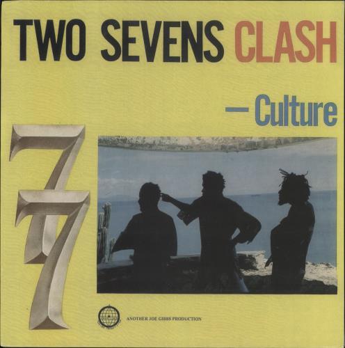 Culture Two Sevens Clash vinyl LP album (LP record) US CE4LPTW729538