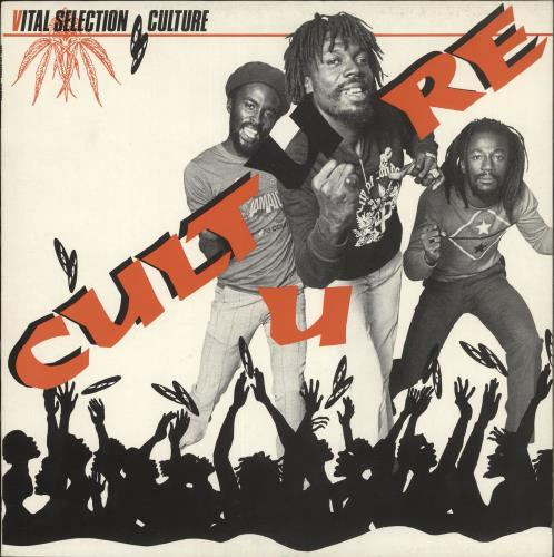 Culture Vital Selection vinyl LP album (LP record) UK CE4LPVI723876