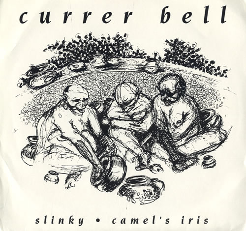 "Currer Bell Slinky 7"" vinyl single (7 inch record) US C8R07SL558529"