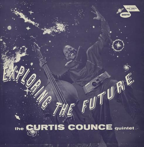 Curtis Counce Exploring The Future vinyl LP album (LP record) US CU-LPEX360776