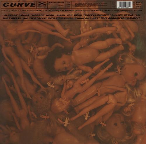 Curve Doppelganger + Poster vinyl LP album (LP record) German CRVLPDO753486