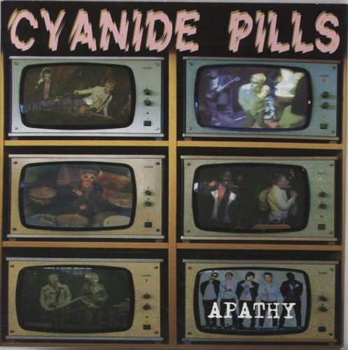 "Cyanide Pills Apathy - Grey Vinyl 7"" vinyl single (7 inch record) UK 27D07AP765801"