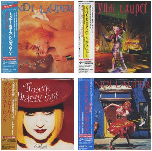 Cyndi Lauper Paper Sleeve Collection Japanese 4 Cd Album Set 442602