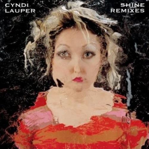 "Cyndi Lauper Shine Remixes CD single (CD5 / 5"") US LAUC5SH480347"