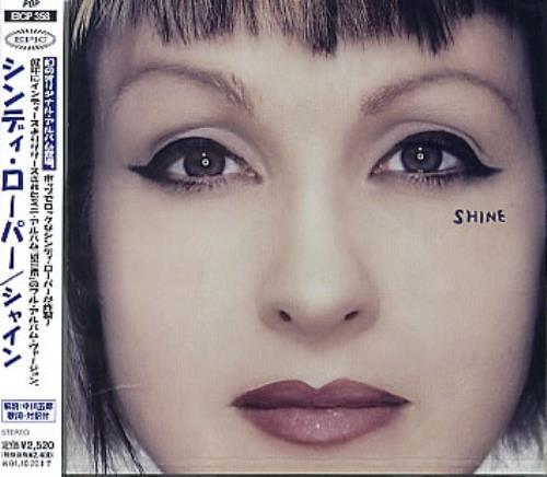 Cyndi Lauper Shine Japanese Cd Album Cdlp 279398