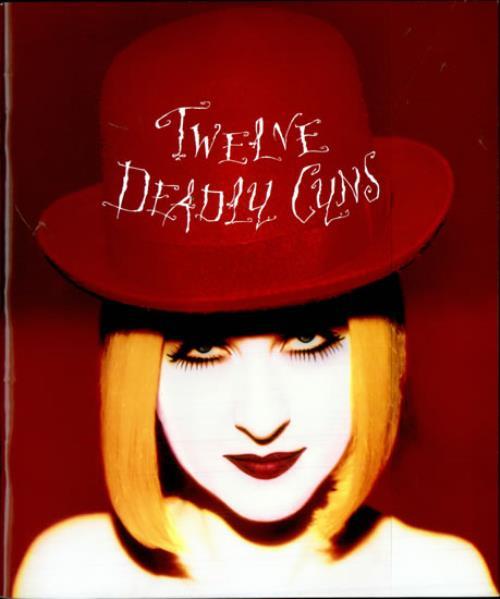 Cyndi Lauper Twelve Deadly Cyns Japanese Tour Programme 513464 Tour Programme
