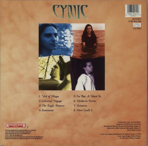 Cynic Focus - 1st vinyl LP album (LP record) Dutch G6NLPFO629607