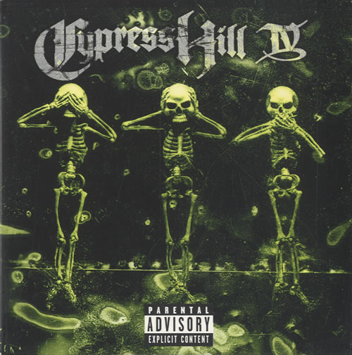 Cypress Hill Iv Uk Cd Album Cdlp 506091
