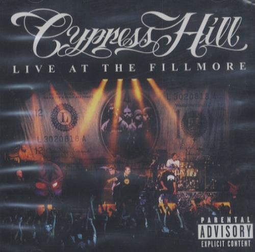 Cypress Hill Live At The Fillmore CD album (CDLP) UK CYPCDLI172379