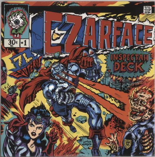 Czarface Czarface 2-LP vinyl record set (Double Album) US 0472LCZ740441