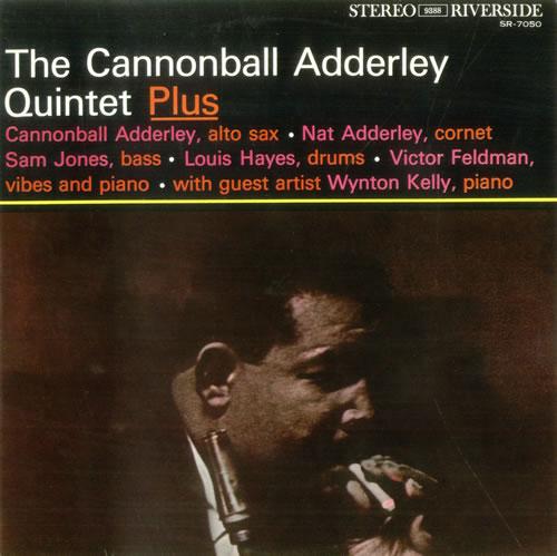 Cannonball Adderley The Cannonball Adderley Quintet vinyl LP album (LP record) Japanese ERLLPTH531508