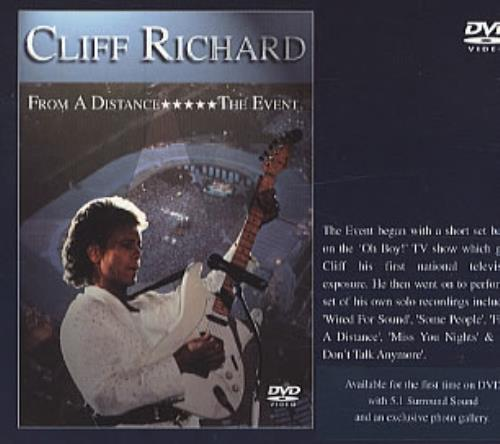 Cliff Richard From A Distance... The Event DVD UK RICDDFR321011