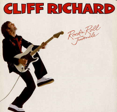 Cliff Richard Rock 'n' Roll Juvenile vinyl LP album (LP record) Dutch RICLPRO555627