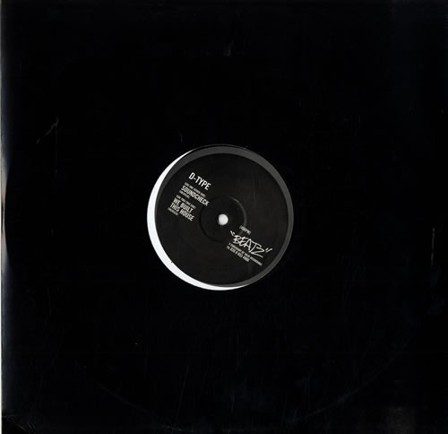 "D-Type Soundcheck/We Built This House 12"" vinyl single (12 inch record / Maxi-single) UK D-012SO561097"
