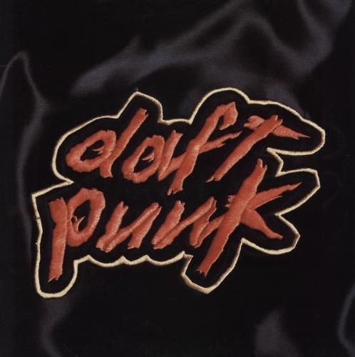 Daft Punk Homework - promo stickered 2-LP vinyl record set (Double Album) UK DFP2LHO754963