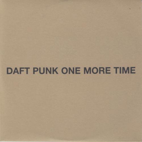 "Daft Punk One More Time CD single (CD5 / 5"") UK DFPC5ON282292"