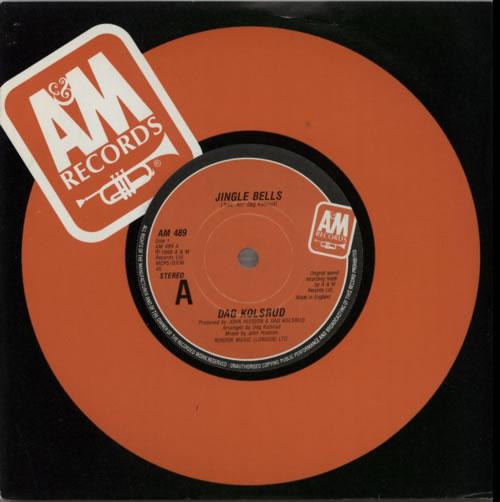 "Dag Kolsrud Jingle Bells 7"" vinyl single (7 inch record) UK E7K07JI599180"