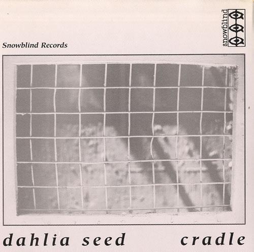 """Dahlia Seed Greg Ledos Tear's 7"""" vinyl single (7 inch record) UK D7H07GR559860"""