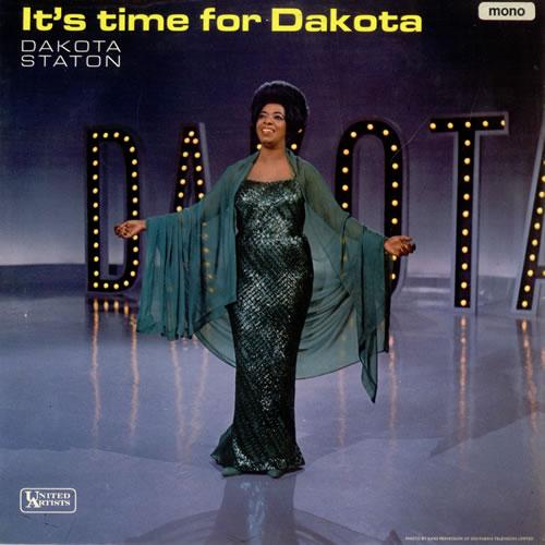Dakota Staton It's Time For Dakota vinyl LP album (LP record) UK DKALPIT489700