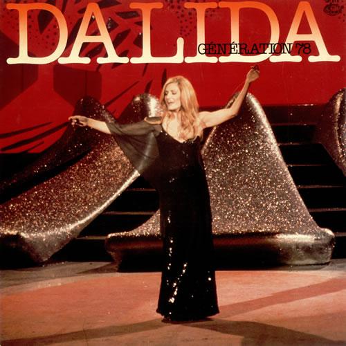 Dalida Génération 78 vinyl LP album (LP record) Japanese DLDLPGN487901