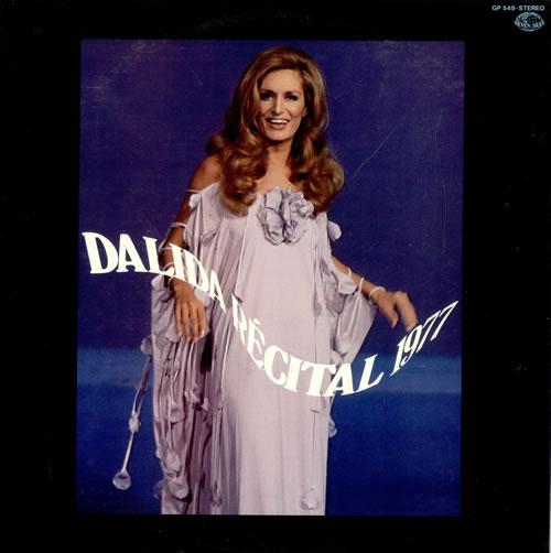 Dalida Récital 1977 vinyl LP album (LP record) Japanese DLDLPRC487904