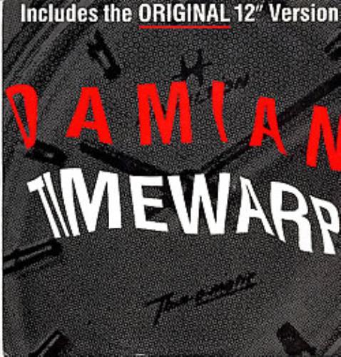 "Damian The Time Warp 2 12"" vinyl single (12 inch record / Maxi-single) UK DMN12TH43467"