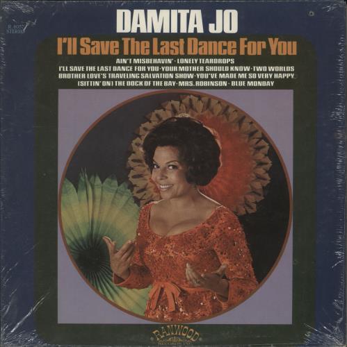 Damita Jo I'll Save The Last Dance For You vinyl LP album (LP record) US D53LPIL699037