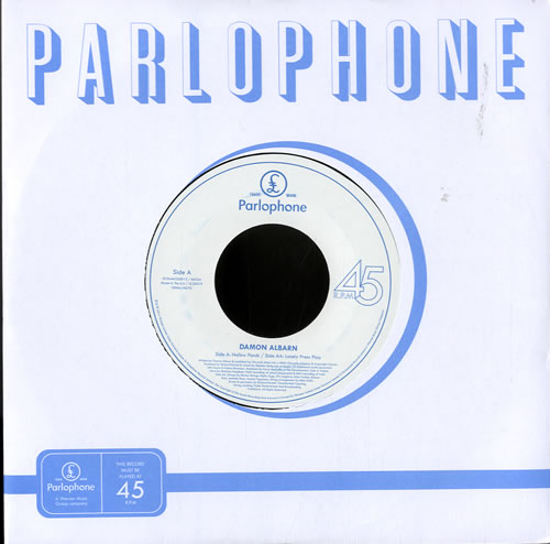 "Damon Albarn Hollow Ponds - RSD14 7"" vinyl single (7 inch record) UK DAL07HO602650"