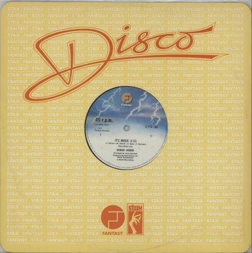 "Damon Harris It's Music 12"" vinyl single (12 inch record / Maxi-single) UK 3DH12IT661762"