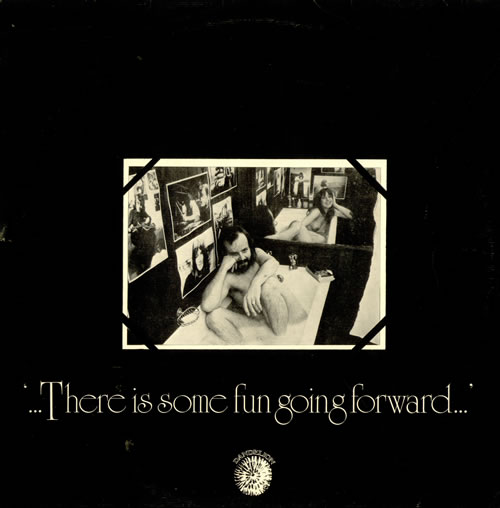 Dandelion Records There Is Some Fun Going Forward + Poster vinyl LP album (LP record) UK DHOLPTH514465