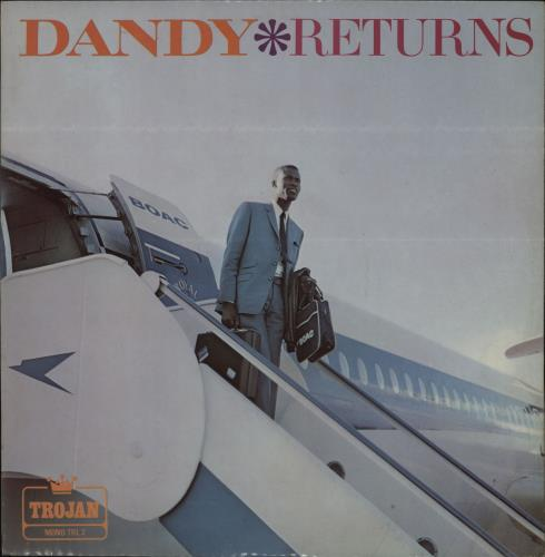Dandy Livingstone Dandy Returns vinyl LP album (LP record) UK DYILPDA764208