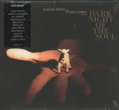 Danger Mouse Dark Night Of The Soul CD album (CDLP) UK D3OCDDA511653