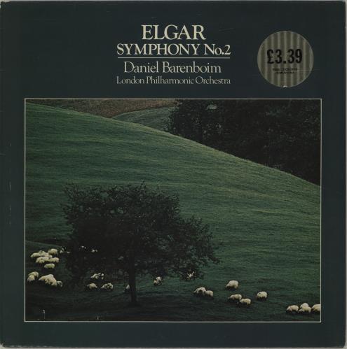 Daniel Barenboim Elgar: Symphony No.2 Opus 63 E Flat Major vinyl LP album (LP record) UK H39LPEL686397