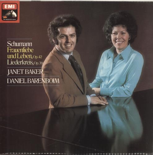 Daniel Barenboim Schumann: Frauenliebe Und Leben / Liederkreis vinyl LP album (LP record) UK H39LPSC690442