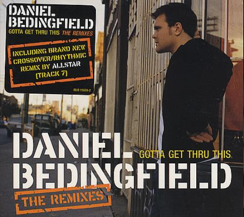 "Daniel Bedingfield Gotta Get Thru This - The Remixes CD single (CD5 / 5"") US DBEC5GO276448"