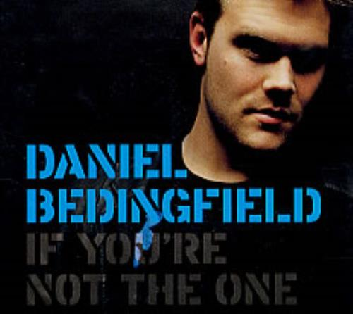 """Daniel Bedingfield If You're Not The One CD single (CD5 / 5"""") US DBEC5IF251365"""