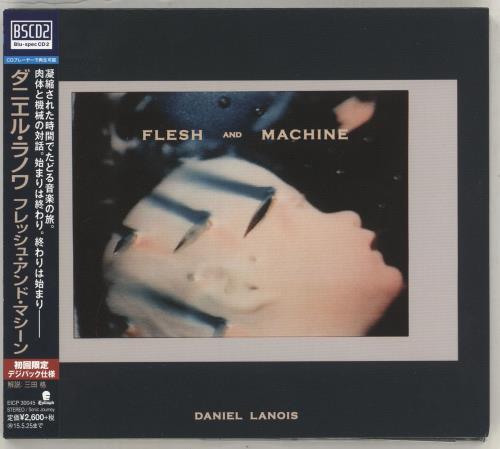 Daniel Lanois Flesh And Machine Blu-Spec CD Japanese DNLBSFL714484