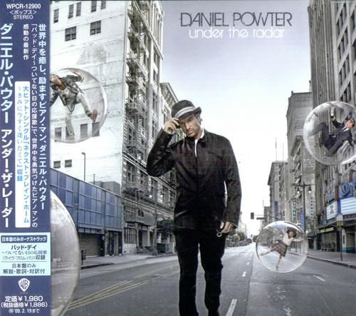 cd daniel powter under the radar